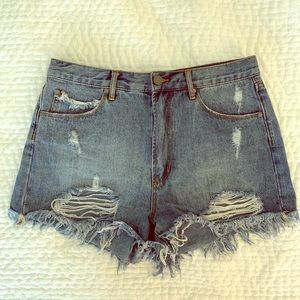 Articles of Society high rise shorts size 29